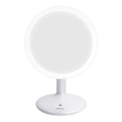 INNOKA Rechargeable Adjustable Light LED Makeup Mirror 90 Degree Swivel Rotation