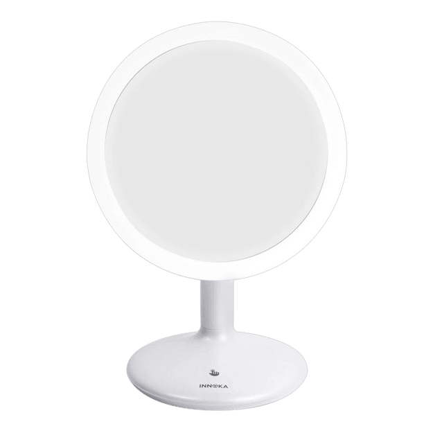 Product Detail - INNOKA Rechargeable Adjustable Light LED Makeup Mirror 90 Degree Swivel Rotation - image 0