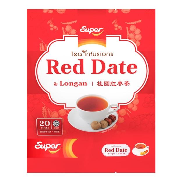 商品详情 - 新加坡SUPER超级 补血养颜桂圆红枣茶 18g*20条入 - image  0