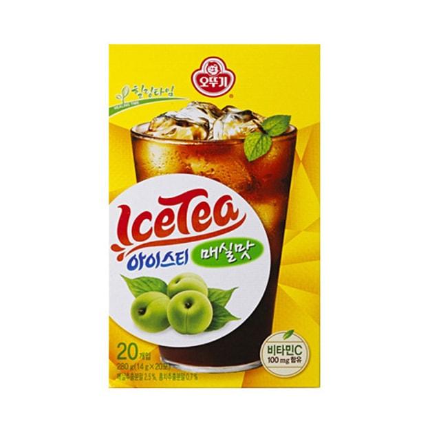 商品详情 - 韩国OTTOGI不倒翁 即溶冰红茶 李子味 20包入 - image  0