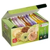 【日本直邮】日本千朋TIVON  6种类野果果仁薄脆饼24枚