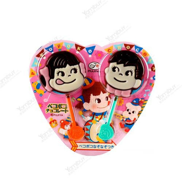商品详情 - 日本FUJIYA不二家 巧克力棒棒糖 2枚入 - image  0