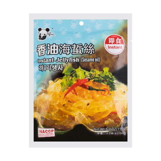Product Detail - Panda Instant Jellyfish Sesame Oil Flavor 150g - image 0