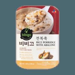 韩国CJ希杰 BIBIGO 鲍鱼杏鲍菇即食粥 1人份 280g