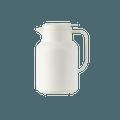 网易严选 1.5L 简约大容量玻璃内胆保温壶 栀子白