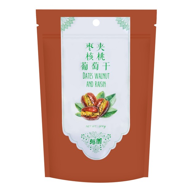 Product Detail - YUMEI Dates Walnut And Raisin 500g - image 0