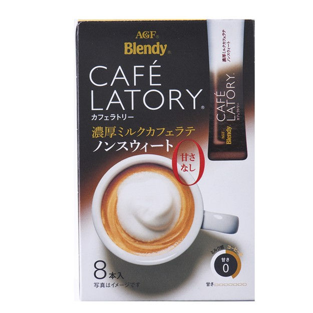 Product Detail - JAPAN AGF BLENDY Coffee Latte 8pc - image 0