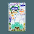KOBAYASHI Bathroom Toilet Bowl Cleaner Deodorizer #refreshing forest and flower 3pc
