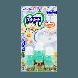 【李佳琦推荐】日本KOBAYASHI小林制药 花瓣式马桶清洁凝胶 #森林花香 3枚入 22.5g