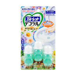 Bathroom Toilet Bowl Cleaner Deodorizer #refreshing forest and flower 3pc