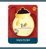 韩国PAPA RECIPE春雨 春雨红参蜂蜜精油面膜 1片入