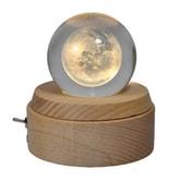 RIVER幻境系列  白月光水晶球八音盒 礼物1件
