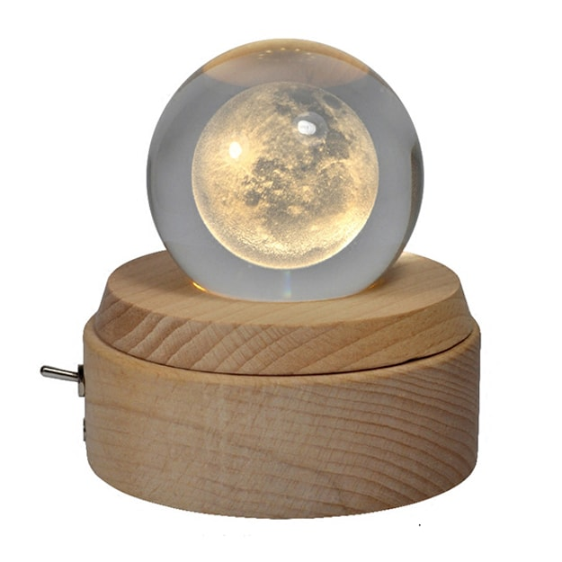 Product Detail - RIVER  Moonlight Crystal ball music box - image 0