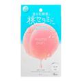 【日本直邮】日本BCL MOMO PURI 蜜桃果冻面膜 4枚入