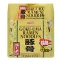 日本SHIRAKIKU赞岐屋 GOKUUMA 豚骨口味拉面 方便面 5包入 475g
