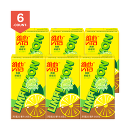 VITA Lime Lemon Tea 250ml Pack of 6