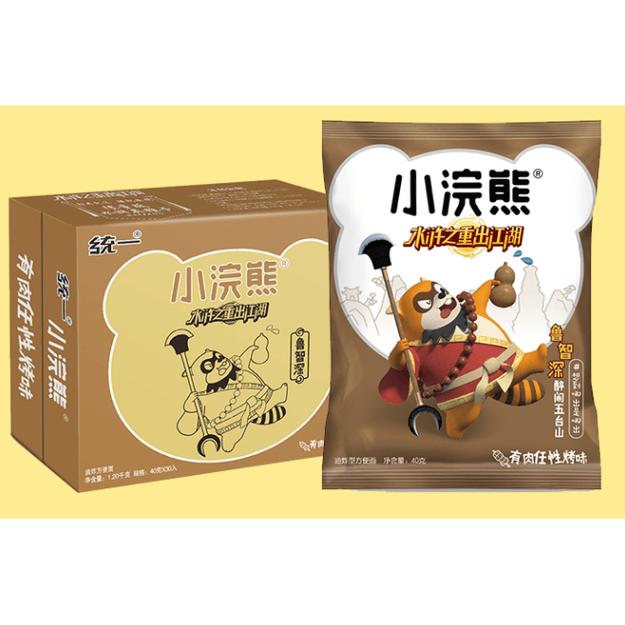 商品详情 - 统一小浣熊干脆面 任性烤肉味 40g - image  0