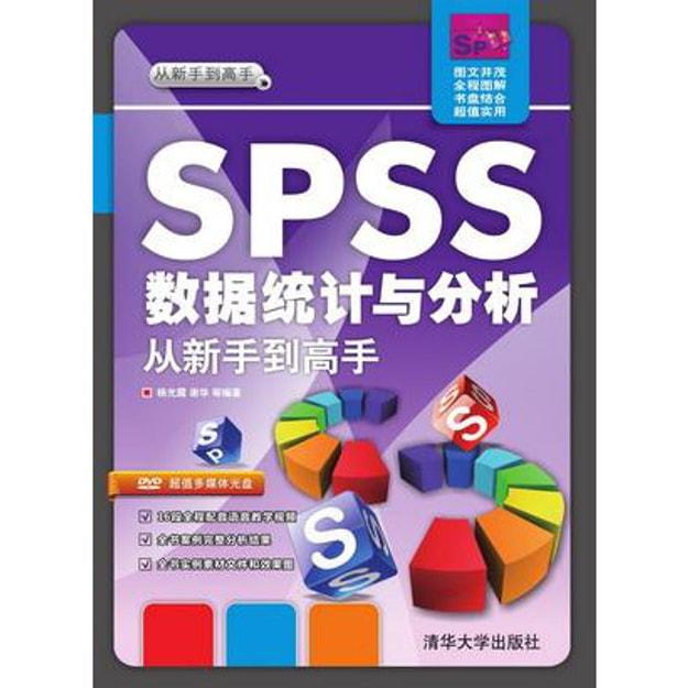商品详情 - SPSS 数据统计与分析·从新手到高手(附光盘) - image  0