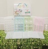 GANGNAM SHOP RRE Food Freeze Containers 4Set