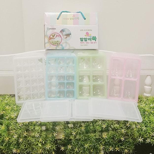 商品详情 - 韩国GANGNAM SHOP RRE 冷冻保鲜盒四组 - image  0