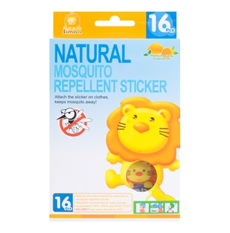 SIMBA Natural Mosquito Repellent Sticker 16 pcs