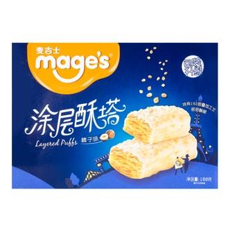 麦吉士 涂层酥塔 榛子味 188g