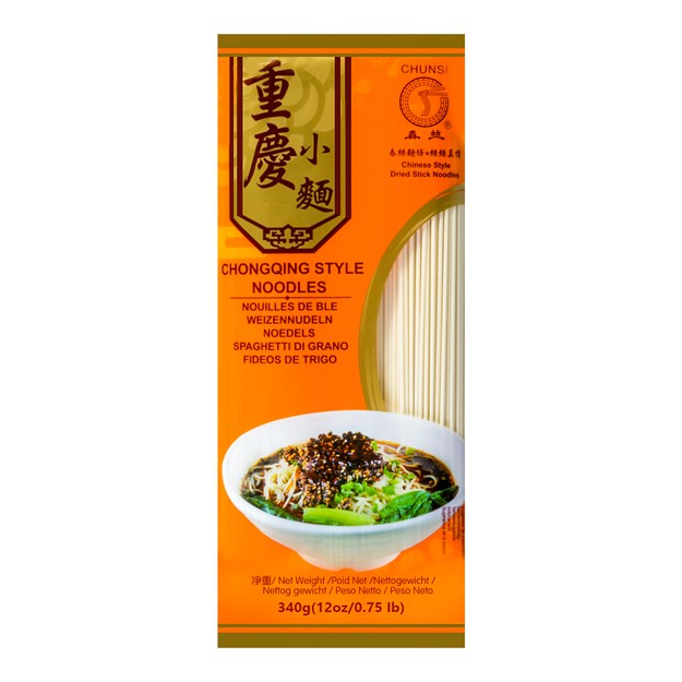 Product Detail - CHUNSI CHONGQING STYLE  NOODLES 340g - image 0