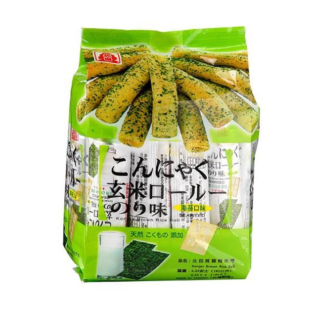 商品详情 - 北田蒟蒻糙米卷-海苔口味160g - image  0