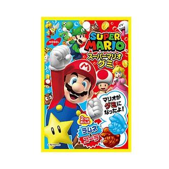 日本NOBEL 超级马里奥软糖 波子汽水&可乐味 45g
