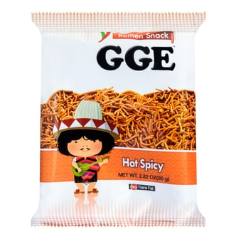 WEILIH GOOD GOOD EAT Hot Spicy Flavor Wheat Cracker 78g