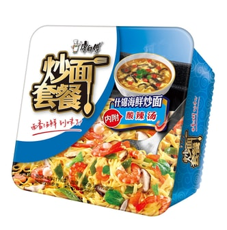 MASTER KONG Seafood Flavor Sauteed Instant Noodles 116g