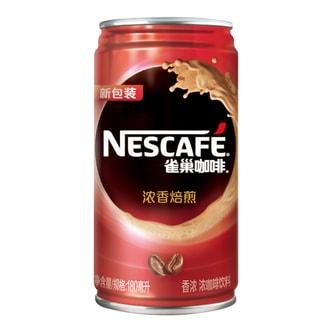 雀巢 浓香焙煎 即饮罐装咖啡 180ml