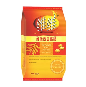 WEIWEI Soybean Milk Powder (Vitamin) 360g