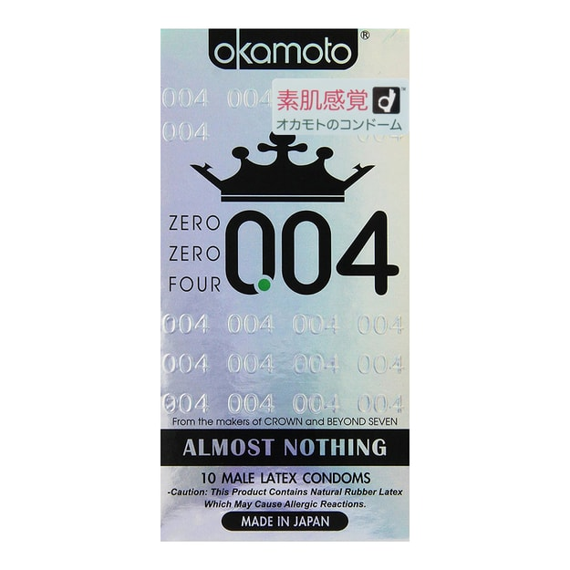 Product Detail - OKAMOTO 004 Ultra Thin Condom 10 Pack - image 0