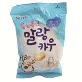 [台湾直邮] 韩国 乐天 - 棉花牛奶糖(牛奶口味) 63克/包
