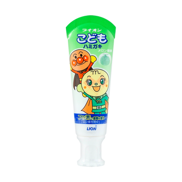 Japan Lion Kid's Toothpaste #Melon 40g