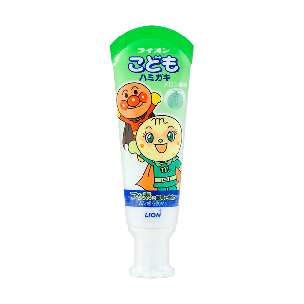 Product Detail - Japan Kid\'s Toothpaste #Melon 40g - image  0