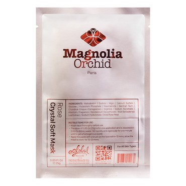 MAGNOLIA ORCHID rose crystal soft mask 25g