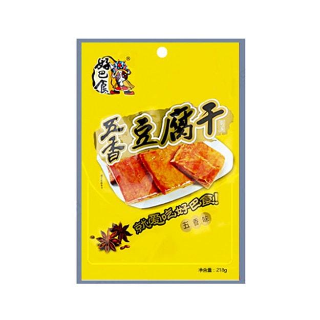 商品详情 - 徽记 好巴食 豆腐干 五香口味 218g 谢娜代言 - image  0