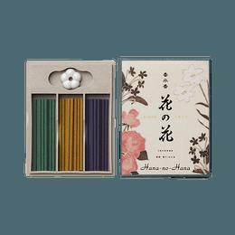 日本香堂||香水香花之花线香三种||30支装