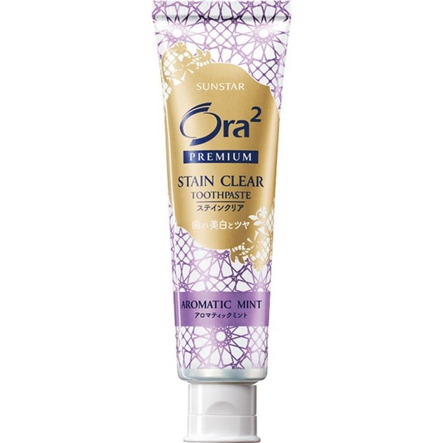 Product Detail - SUNSTAR ORA2 Premium Stain Clear Toothpaste Aromatic Mint 100g - image 0