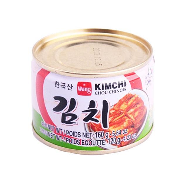 商品详情 - 韩国WANG 即食腌泡菜 罐装 160g - image  0
