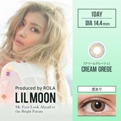 LILMOON Cream Grege 10 pieces zero prescription