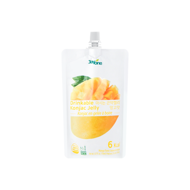 韩国JAYONE JELLY.B 低糖低卡蒟蒻果冻 芒果味 150ml 多种版本随机发货