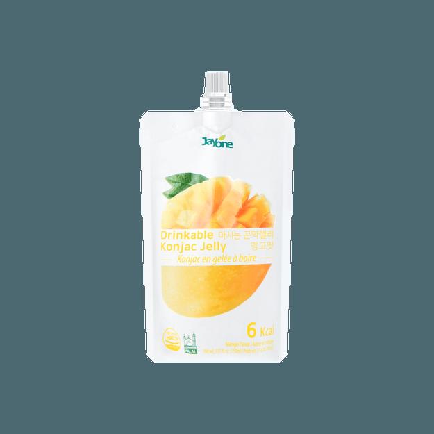 商品详情 - 韩国JAYONE JELLY.B 低糖低卡蒟蒻果冻 芒果味 150ml 多种版本随机发货 - image  0