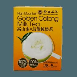 金品茗茶 高山 乌龙纯奶茶 奶素食可用  28g*5bag