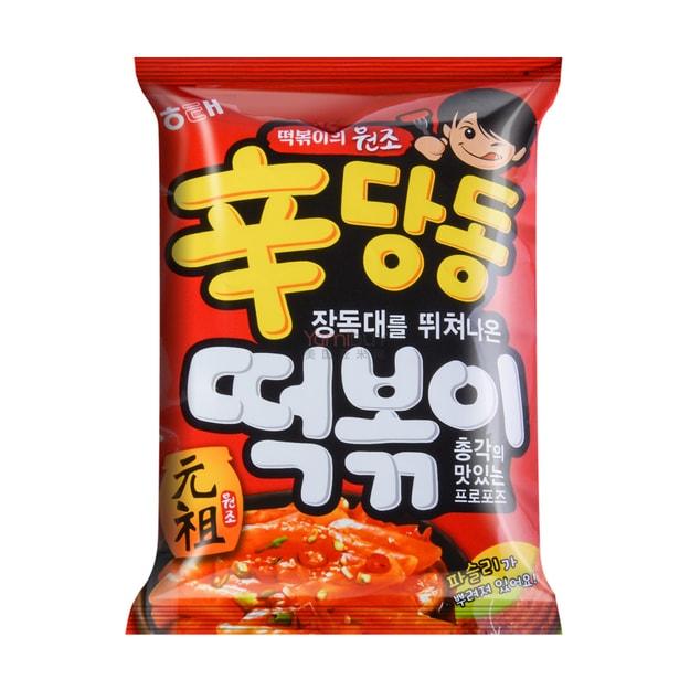 商品详情 - 韩国HAITAI海太 辣炒年糕条 110g - image  0