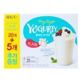 韩国DAMTUH丹特 冲饮型酸奶粉 原味 25条入 450g