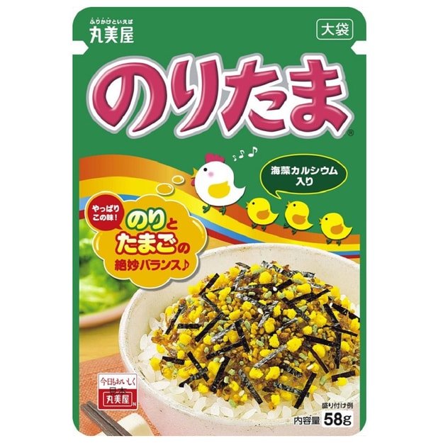 Product Detail - MARUMIYA Furikake Rice Seasoning Noritama 30g - image 0