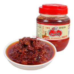 QIAO NIANG FANG Broad Bean Paste (Chili) 500g